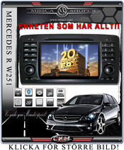 "C3. Comand Facelifting Produkt enhet i \""MB LOOK\\\"" DVD NAVI Bluetooth Touch Screen mm.."