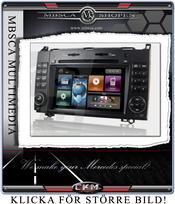 "C7. Comand enhet i ""MB LOOK"" DVD GPS Bluetooth Touch Screen mm.."