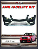 "1. CKM ""A-look"" FACELIFT front Spoiler kit"