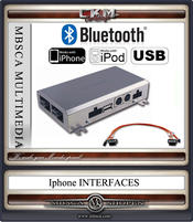 IPHONE IPOD och USB MP3 interface BLUETOOTH Comand MOST