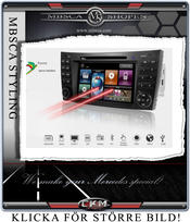 "C2. Comand Facelifting Produkt enhet i ""MB LOOK"" DVD NAVI Bluetooth MOST mm.."