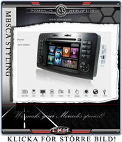 "C2. Comand Facelifting Produkt enhet i ""MB LOOK"" DVD NAVI Bluetooth mm.."