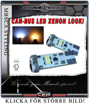 Parkerings ljus LED Can-BUS Xenon look 2st